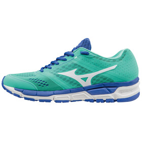 Mizuno Synchro MX Running Shoes Women electric green/white/dazzling blue